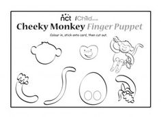 Five little monkeys jumping on the bed printables google for Barrel of monkeys coloring page