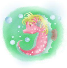 Girly seahorse