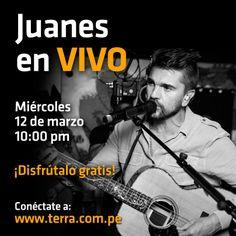 """Juanes en Terra: presenta el 12 de marzo su """"Loco de amor"""". ¡No te pierdas a Juanes en #TerraLiveMusic!"""