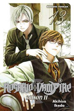 Manga - Manhwa - Rosario + Vampire Saison II Vol.13
