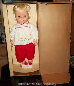 Vintage 1965 Baby Boo Doll in Original Box Topper Toys Deluxe Reading ...