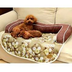 Kingpets Couch Cover Dog Bed