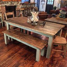 Custom Farm Table by Blohm Hill Designs