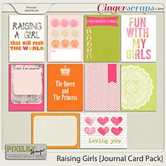 Raising Girls [Journal Card Pack]