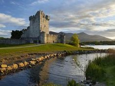 Appropriate pin for today.  The Ross Castle in Ireland.  Beautiful!  Castles are just FUN!!!