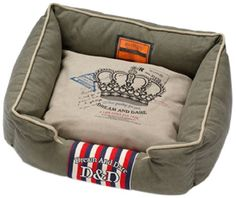 DandD Lifestyle Royal King Pet Bed, 55 by 45 by 23cm, Olive Green -- Check this awesome product by going to the link at the image. (This is an affiliate link and I receive a commission for the sales)