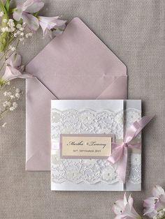 Invitaciones de boda sencillas - Ejemplos para copiar