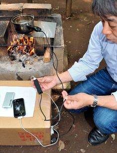 Boil water to charge your mobile - Australian Geographic
