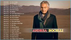 Andrea Bocelli Greatest Hits 2018 ♪ღ♫ Andrea Bocelli Best Songs [Live Al...