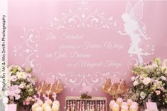 Fairy Birthday Party printables by www.concept-designs.com.au. Order your package today to make your next Fairy Birthday Party a party everyone will remember. Email: info@concept-designs.com.au. Party styling by Sensationally Sweet Events.