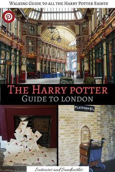 Harry potter Guide to London, walking guide around the best Harry Potter sights and locations in London from Diagon Alley to Gringotts, the entrance to the Ministry of Magic to Platform 9 Where to buy a Marauder's Map and where Grimmauld Place was fi London Eye, Backpacking Europe, Europe Travel Guide, Travel Guides, Eurotrip, Travel With Kids, Family Travel, Harry Potter London, London With Kids