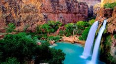 6.) Havasu Falls, Grand Canyon National Park, Arizona