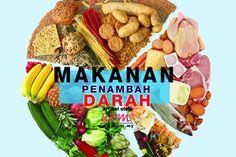 Ketahui Makanan Penambah Darah | http://www.wom.my/kesihatan/petua-pemakanan/makanan-penambah-darah/