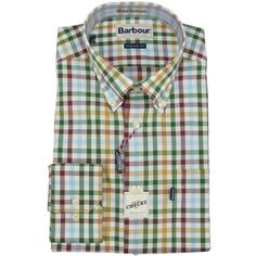 Barbour Bibury Shirt - Made from 100% supersoft cotton that's cool and comfortable against your skin. This long sleeved shirt features a stylish and bright country check design that's ideal for everyday smart/casual wear.