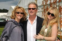 2000s - Trevor Eve with wife Sharon Maughan and daughter Alice Eve.