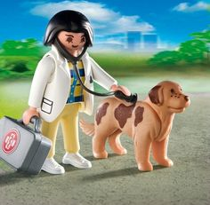 Playmobil Vet with Dog 4750