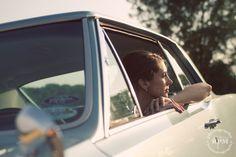 Bride in Vintage GTO