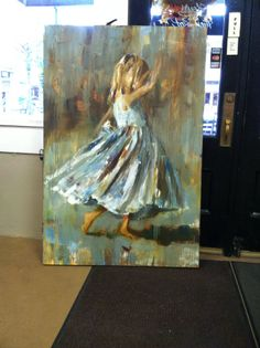 60 x 40 painting newly acquired. Painted by Susie Pryor from Atlanta
