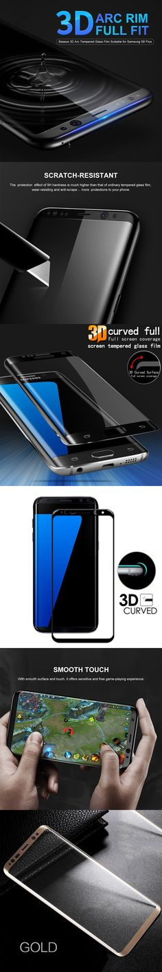 GXE 3D Curved Full Screen Cover Tempered Glass For Samsung Galaxy S8 Plus Note 8 A7 A3 A5 2017 Edition A520 S7 edge S6 Plus Film