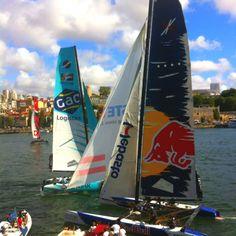 Extreme sailing race!!