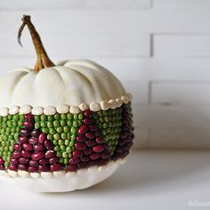 Geometric Bean Pumpkin Inexpensively!