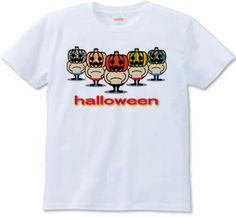 ハロウィン : 夜泣き堂本舗 [半袖Tシャツ [6.2oz]] - デザインTシャツマーケット/Hoimi(ホイミ)