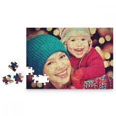 Holzpuzzle mit persönlichem Foto Cadeau Surprise, Belle Photo, Puzzles, Kids Rugs, Photos, Painting, Decor, Art, Woodwind Instrument