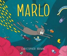 Marlo by Christopher Browne.  Can you help find Marlo's friend Duck when bath time turns underwater adventure time?