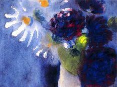 Emil Nolde ~ The Expressionist Flowers   Tutt'Art@   Pittura * Scultura * Poesia * Musica  