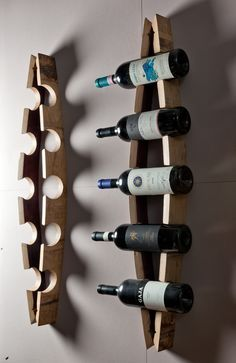 Wine Barrel Project Rack