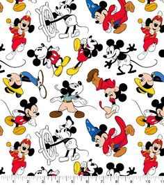 It's my favorite print!Disney Mickey Mouse Cotton Fabric-Mickey Through the Years, Mickey Mouse Kunst, Mickey Mouse Fabric, Mickey Mouse Wallpaper, Disney Fabric, Disney Phone Wallpaper, Mickey Mouse Cartoon, Disney Boys, Disney Art, Walt Disney