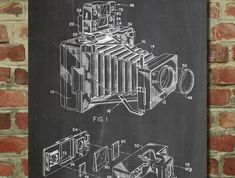 Patent Diagrams Converted into Decorative Posters #patentartwork