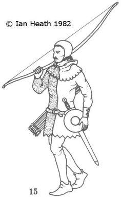 ENGLISH ARCHER c.1330-50