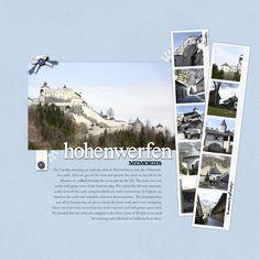 #papercraft #travel #scrapbook #layout by Denise Gormish in Designer Digitals gallery