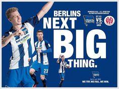 Bester Tag der Woche: Es ist wieder MATCHDAY!  #finally #Bundesliga #bscm05 #hahohe #herthabsc