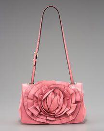 Valentino Petale Flap Bag