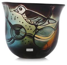 A Bertil Vallien glass bowl, Kosta Boda - Bukowskis Glass Design, Design Art, Kosta Boda, Scandinavian Art, Glass Art, Retro Vintage, Sculptures, Pottery, Antiques