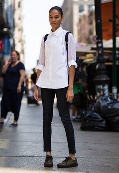 street style bluse white - Google-Suche