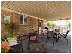 Retro Sands Beach House - back entertaining patio Sands, Beach House, Australia, Patio, Entertaining, Vacation, Outdoor Decor, Home Decor, Beach Homes