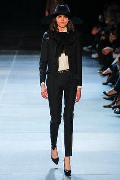 Saint Laurent Spring 2013 Ready-to-Wear Fashion Show - Melissa Stasiuk
