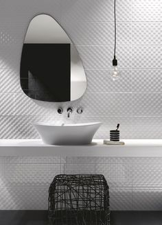 Indoor white-paste wall tiles PRESTIGE by Ragno - Marazzi Group