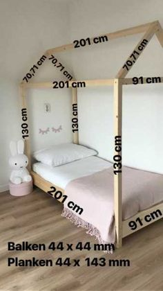 Make a bed casita measures cama Casita Fabricar medidas montessori is part of Toddler rooms -