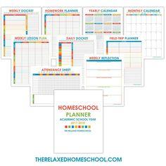 FREE Homeschool Planner! - The Relaxed Homeschool