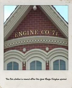 Magic Kingdom fire station | disney world