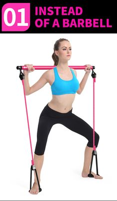 Sport Procircle Pilates Bar Kit with Resistance Band Pilates Exercise Stick Toning Department Name: UnisexFunction: BodyApplication: Pull RopeModel Number: Pilates StickItem: Pilates StickColor: Pink, Yellow, Blue Muscle Fitness, Yoga Fitness, Health Fitness, Fitness Sport, Fitness Quotes, Workout Fitness, Fitness Goals, Fitness Tips, Pilates Training