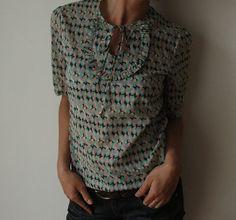 pretty little bib blouse