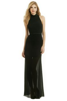 camilla and marc Correlation Gown -Shelley this is a bit closer to the black designer gown you liked