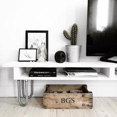 DIY TV bord || Katarina Natalie
