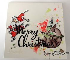 Card, cardmaking, crafting, stamping, stempel, stamps, copics, merrychristmas, xmas, weihnachten