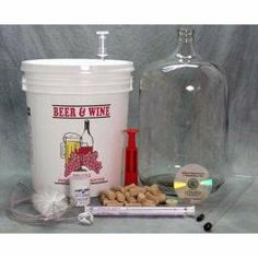 Starter Winemaking Equipment Kit by Midwest Homebrewing Supplies. $74.99. Making wine is easier to make than beer. You don't need to boil your ingredients and results are very consistent when using our wine concentrate kits. Winemaking does require more patience than homebrewing as a wait of 2 - 6 months is needed before you start enjoying your wine. Transferring your wine from plastic primary to secondary is required to allow the wine to clear properly. Starter Winemaking E...